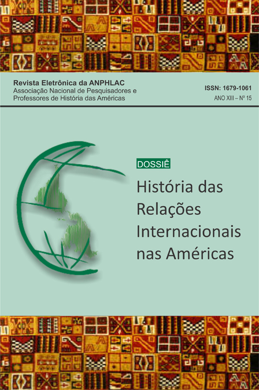 Visualizar n. 15 (2013): História das Relações Internacionais nas Américas
