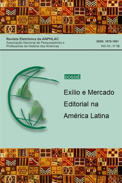 Visualizar n. 19 (2015): Exílio e Mercado Editorial na América Latina